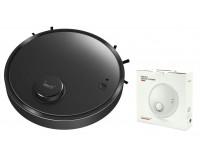 Пылесос Bowai OB12 робот-пылесос, пылесборник 200мл, сухая/влажная, аккум. 2400 мА, бактерицидный, черный