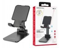 Держатель Borofone BH42 Star для смартфона, до 10 дюймов настольный черный