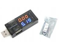 USB тестер Keweisi KWS-10A измерение тока, напряжения, черный