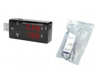 USB тестер Keweisi KWS-A16 измерение тока, напряжения, заряда, черный