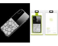 Чехол Usams Yzon Bubble (SYZ03) для Apple iPhone XS, силикон, прозрачный, тонкий