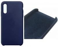 Чехол NEYPO Hard Case (NHC15910) для iPhone X, силикон, синий, тонкий, коробка