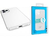 Чехол Borofone Ice (Bl4) для Apple iPhone 12 Mini силикон, прозрачный, глянцевый