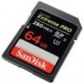 Флэш карты SDXC 64 GB