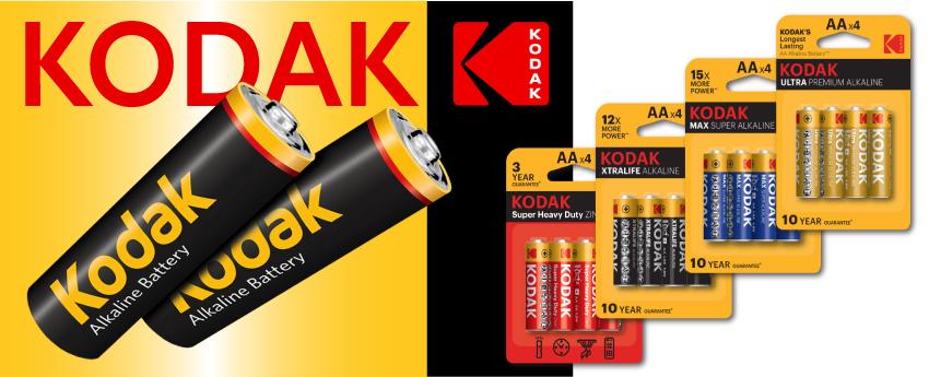 Батарейки Kodak 1